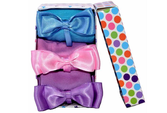 Bow Tie Socks – BK102