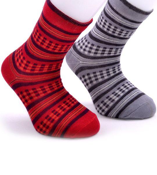 Boys Red Socks – BK332