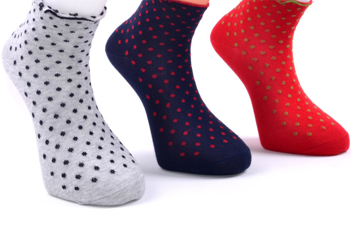 Dots Short Socks – BW234