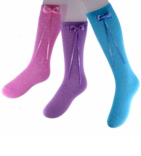 Girls Kneehigh socks – BK345