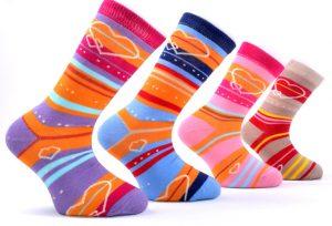 Hearts Girls Socks - BK114