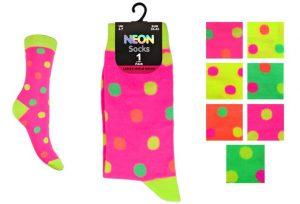Kids Neon Socks - BK985