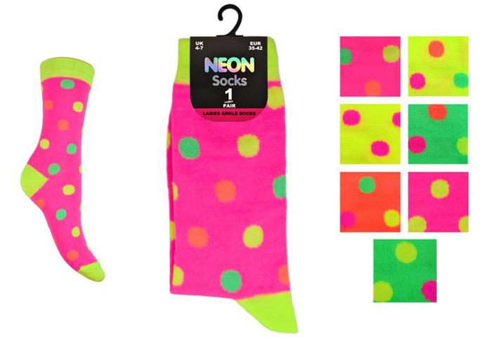 Kids Neon Socks – BK985