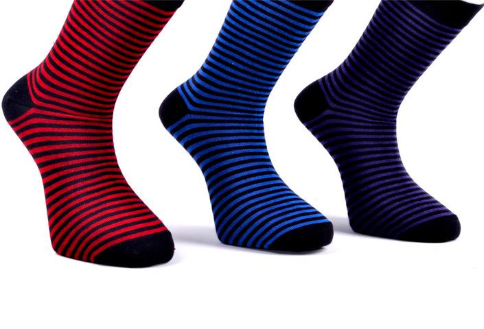 Men Colorful Striped Socks – BM177