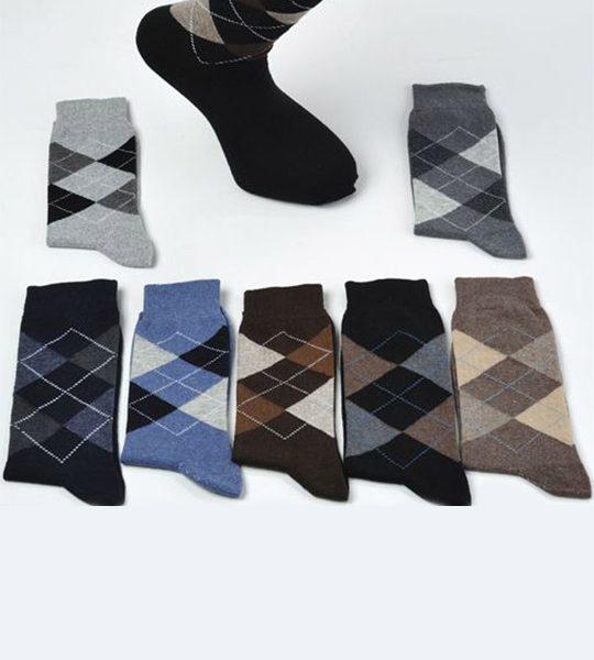 Mens Argyle Socks – BM197
