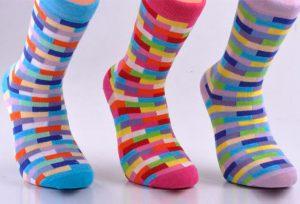Multi-colored Socks - BW124