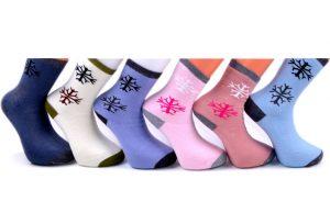 Snowflake Socks - BW106