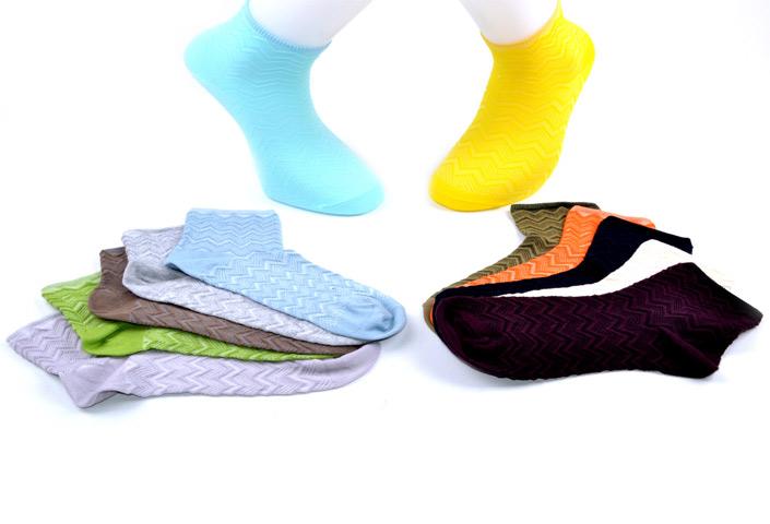 Solid Short Socks – BW251