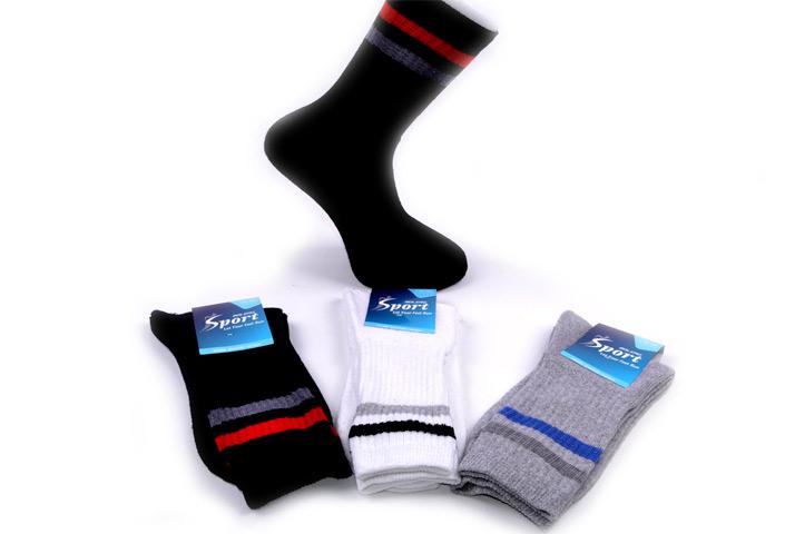 Striped Sport Socks – BS340