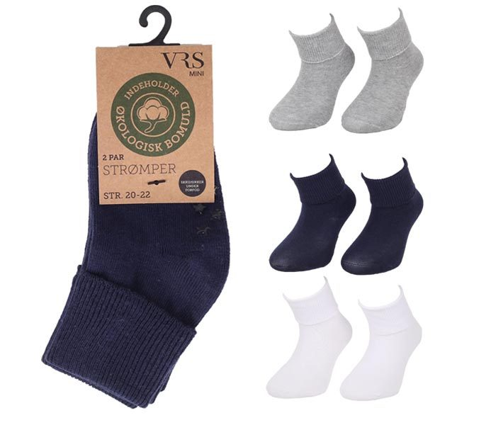 Organic Kids Cotton Socks – BK861