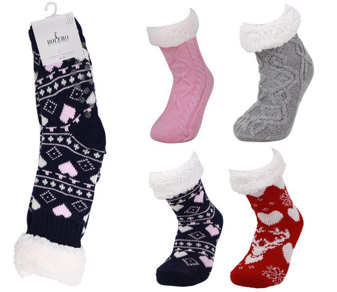 Ladies Polar Fleece Socks – BW428