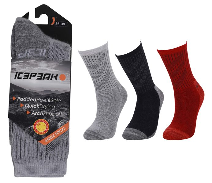 Merino Wool Hi-Tech Trekking Socks – BM851