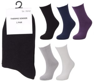 Soft Acryl Thermo Socks - BM807