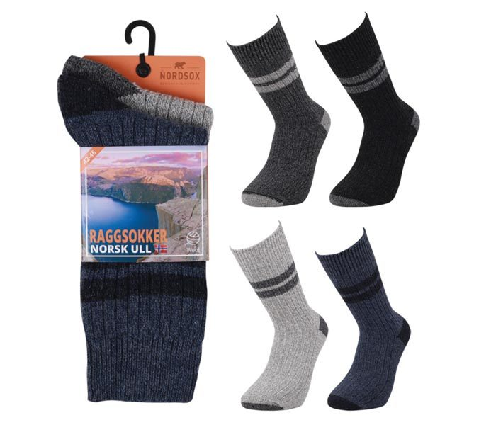 Stripe Boot Socks 2 Pack – BM820