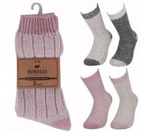 Stripe Ragg Socks 2 Pack - BM439