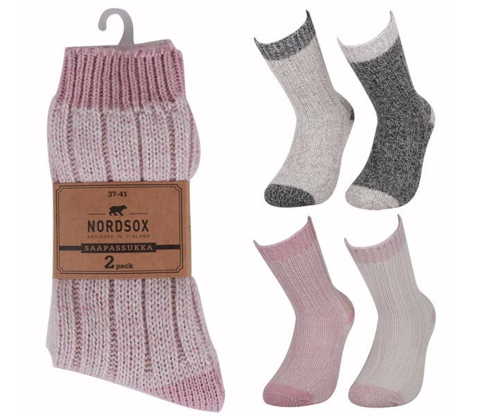 Stripe Ragg Socks 2 Pack – BM439