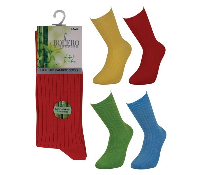 Color Bamboo Socks – BM810