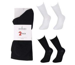 Crew Microfiber Socks 2 Pack - BM608