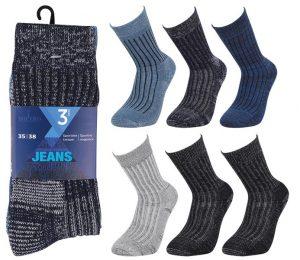 Jeans Socks 3 Pack - BM803