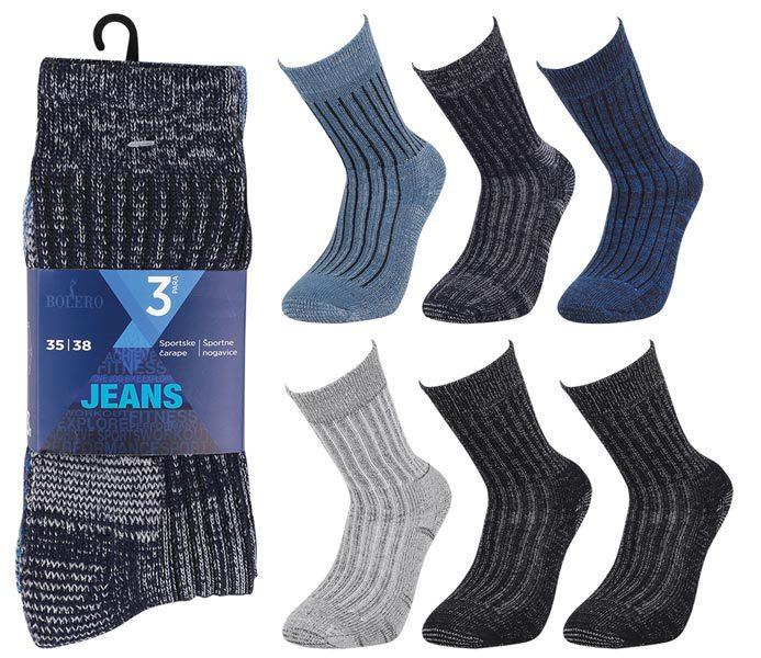 Jeans Socks 3 Pack – BM803