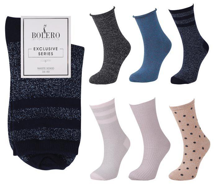 Ladies Glitter Socks – BW649