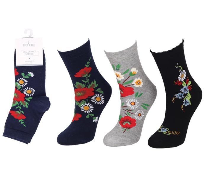 Ladies Premium Socks 200 Needle – BW818