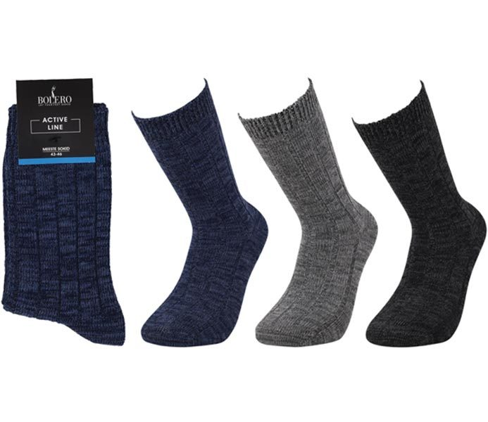 Men Cotton  Boot  Socks – BM682