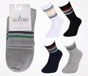 Retro / Striped Socks - BM598