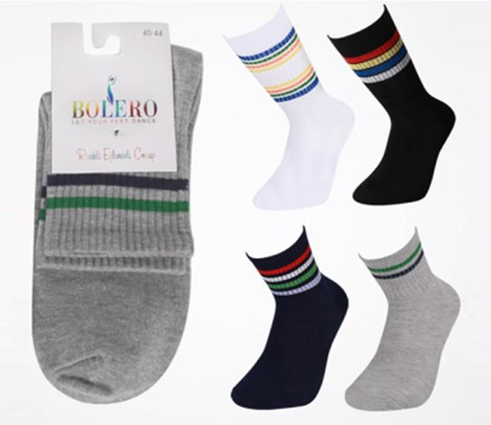 Retro / Striped Socks – BM598