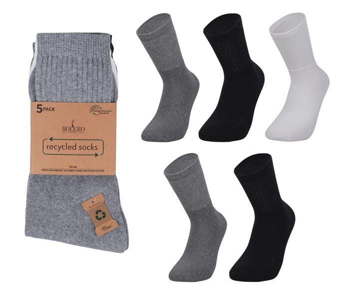 Reycyled Sport Socks 5 Pack – BM243