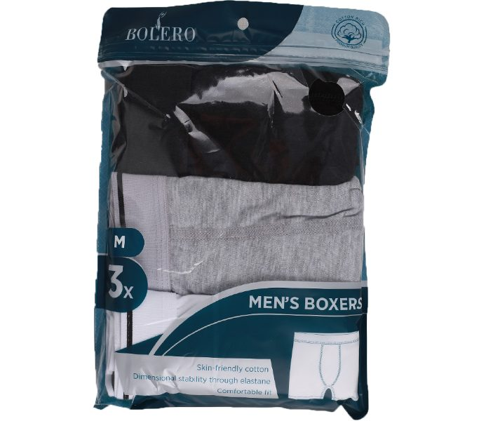 Men Basic Boxers 3 Pieces Pack – BU103
