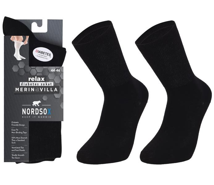Relax Merino Wool Socks Terry Foot – BM742
