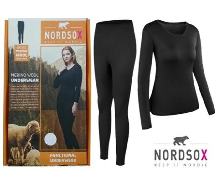 Woman Merino Wool Undersets – BU214
