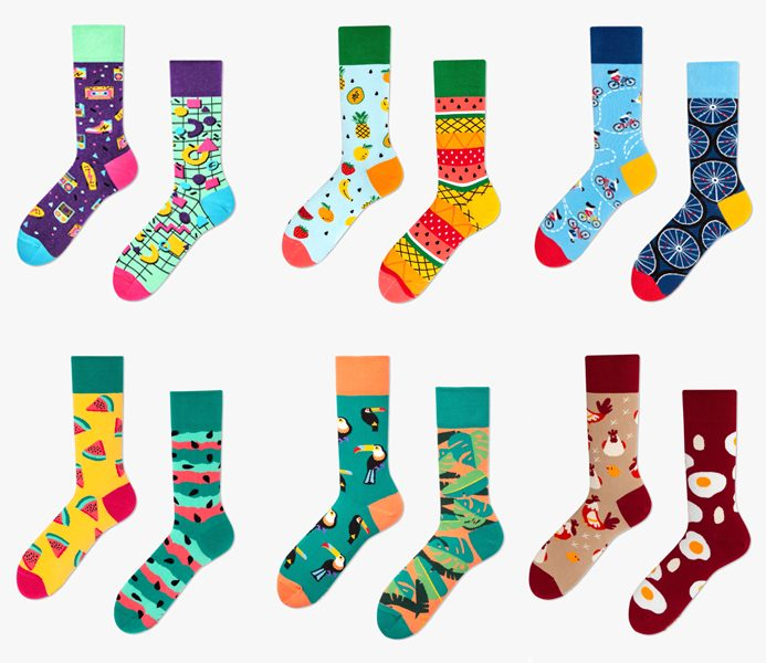 200 Needle Colorful Socks – BM729