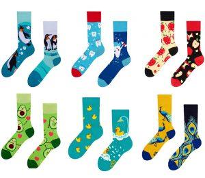 200 Needle Colorful Socks - BM729