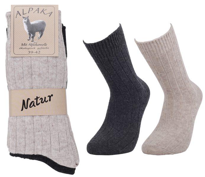 Alpaca Wool Socks 2 Pack – BM712