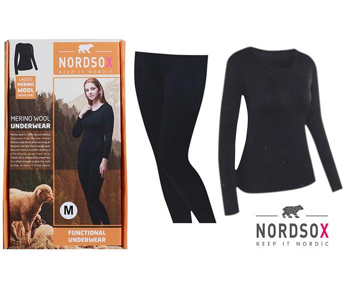 Ladies %100 Merino Wool Undersets – BU215