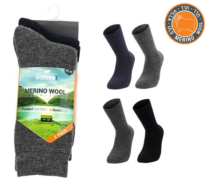 Merino Wool Polar Socks Foot Terry 2 Pack – BM760