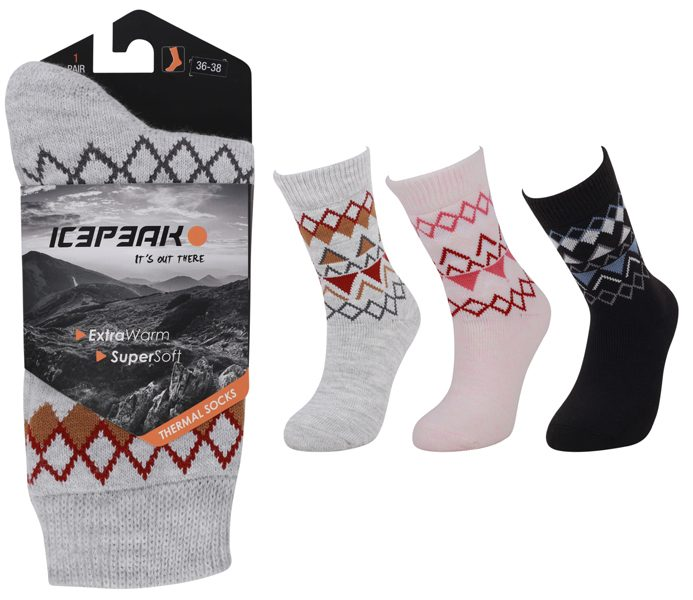 Thermal Socks With Design – BM713
